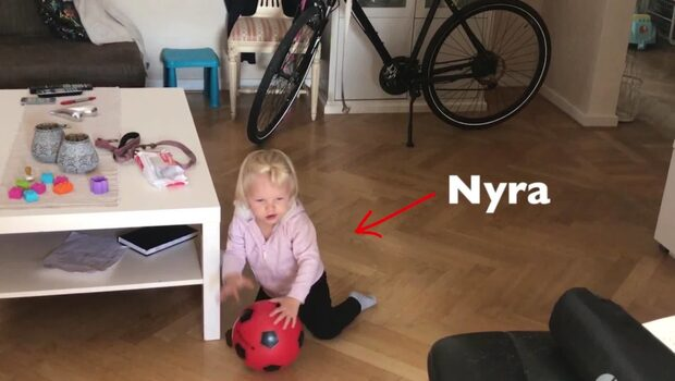 Andreas, 33, döpte sin dotter efter favoritlaget i NHL