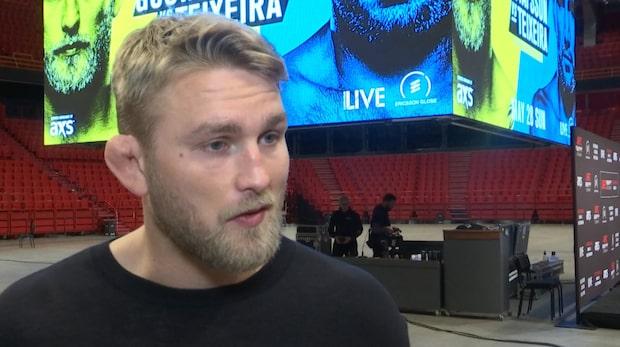 """Alexander Gustafsson: """"Visst finns det en rädsla"""""""
