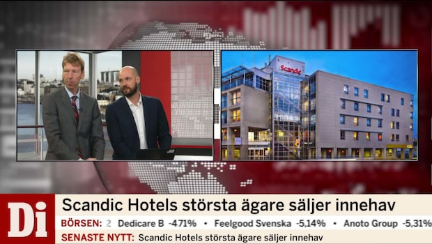 Scandic Hotels största ägare säljer innehav