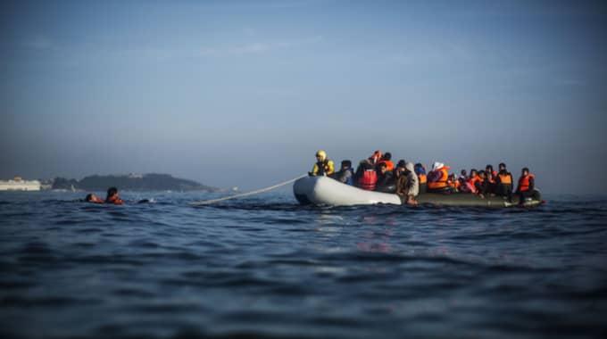 Många flyktingar har dött på Medelhavet i drömmen om ett nytt liv i Europa. Foto: Manu Brabo/AP