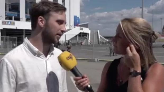 """Bachner: """"Han verkade trött på Zlatan-frågan"""""""