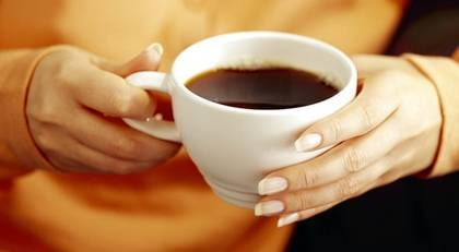 dricka kaffe när man är gravid