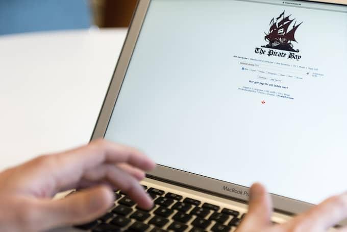 Fildelningssajten The Pirate Bay har varit omstridd och förekommit i rättsprocesser. Foto: Vilhelm Stokstad / TT NYHETSBYRÅN