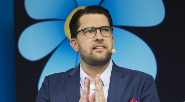 """Åkesson (SD): """"Sverige i dag 2017 begränsas i sin vardag till följd av sin otrygghet"""""""