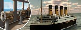 Kika in i Titanic II – inreds av svenskar