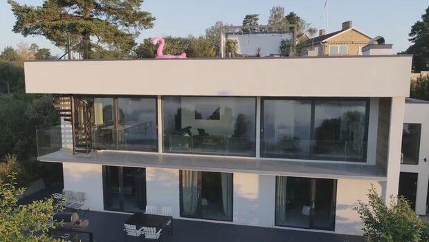 Se hur det tråkiga huset på Lidingö förvandlades till lyxvilla
