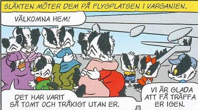 """""""Det går inte att ta miste på budskapet: Det är nog ändå bättre att bli hemskickad än att få asyl"""", skriver Mattias Elftorp i en kulturartikel i Helsingborgs Dagblad."""