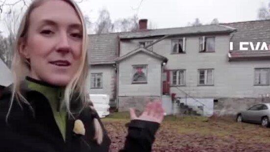 Emilia, 28, köpte en ödegård för 35 000 kronor