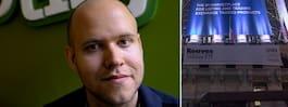 Spotifygrundaren kan göra miljardklipp på börsen