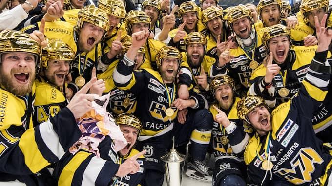 HV71 tog SM-guldet 2017 – vilket lag får fira i slutet av denna säsong? Foto: PETTER ARVIDSON / BILDBYRÅN