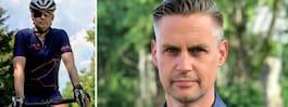 Fredrik, 44, har ms –nu cyklar han Vätternrundan