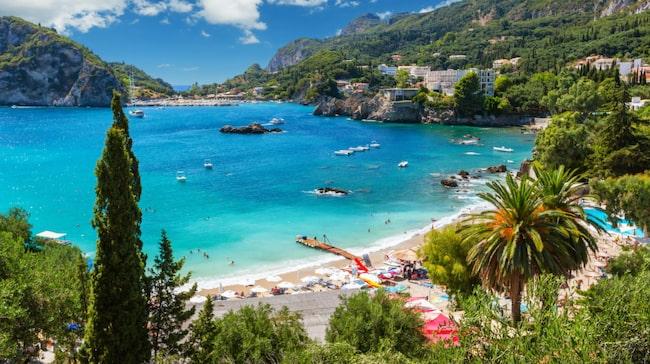 Korfu är framröstat till en av de tio bästa öarna i Grekland.