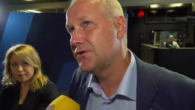 """Jonas Sjöstedt: """"Vi kommer aldrig rösta på SD:s förslag"""""""