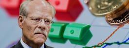 """Lägre inflation än väntat: """"Kalldusch för Riksbanken"""