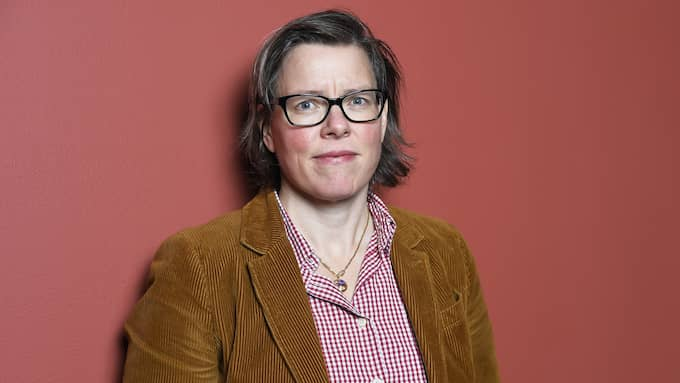 Författaren Lena Andersson debatterar förorten. Foto: KARIN TÖRNBLOM / IBL BILDBYRÅ / IBL BILDBYRÅ/IBL IBL