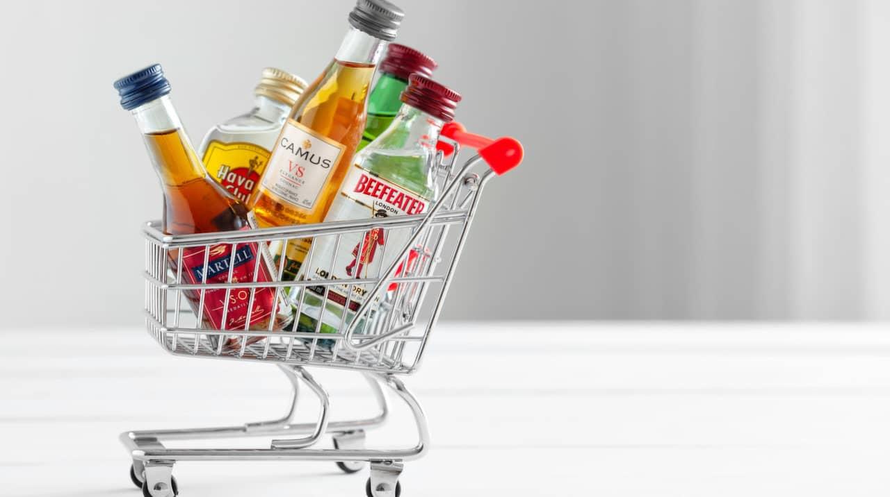 alkohol i incheckad väska