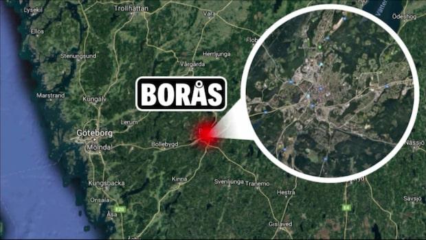 Borås: Galen biljakt efter tjuv på cykelväg
