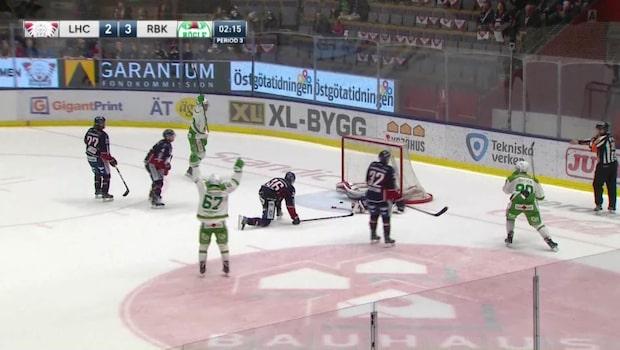 Höjdpunkter: Linköping-Rögle