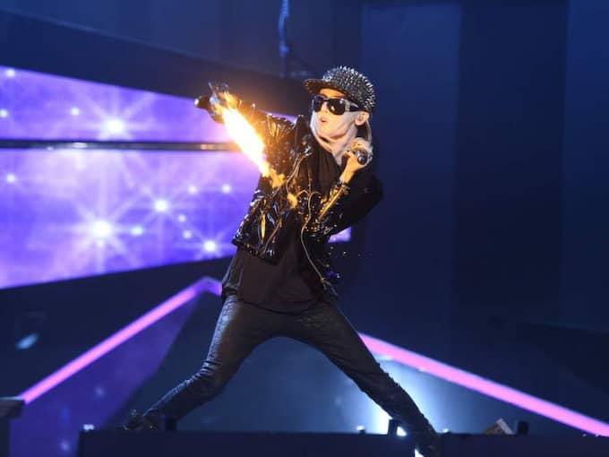"""På lördag står Yohio på scenen under den första delävlingen i Melodifestivalen. Låten heter """"To the end"""". Foto: Sven Lindwall"""