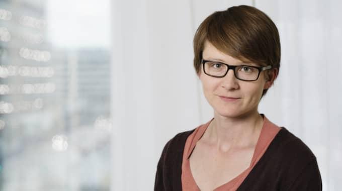 Anna Sara Carnahan, epidemolog, Folkhälsomyndigheten. Foto: Folkhälsomyndigheten