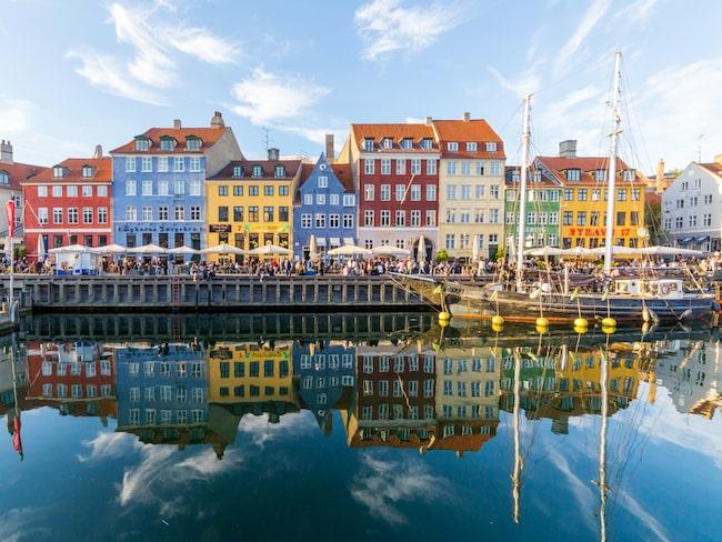 Och våra grannar, Danmark, kniper andraplatsen.