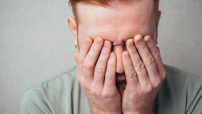 Sven, 54, har problem med högt tryck i ögonen och misstänker grön starr.