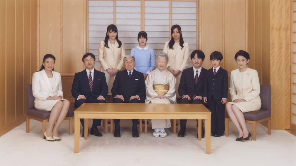 Den kejserliga familjen. Foto: BESTIMAGE / STELLA PICTURES / FAMEFLYNET FAMEFLYNET FRANCE
