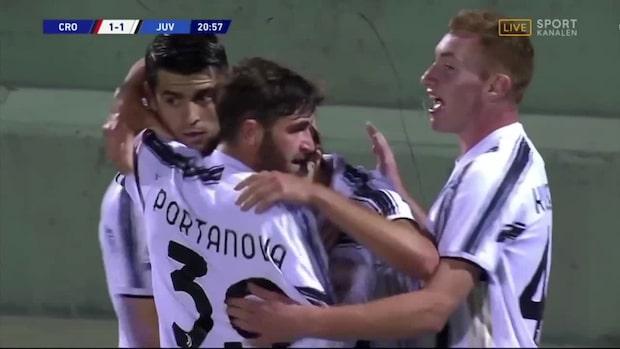 Juventus kvitterar – Kulusevski bakom målet