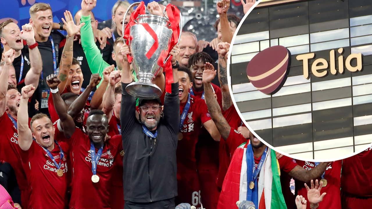 Uppgifter: Telia betalar miljarder för Champions League
