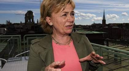 Beatrice Ask ser Storbritannien som ett gott exempel. Foto: Roger Vikström