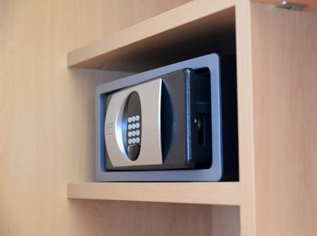 <span>Använd safe boxen på rummet – du kommer förr eller senare att ångra dig annars.</span>