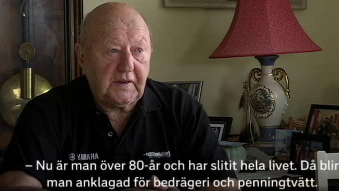 Rolf Sundberg berättar Foto: SVT