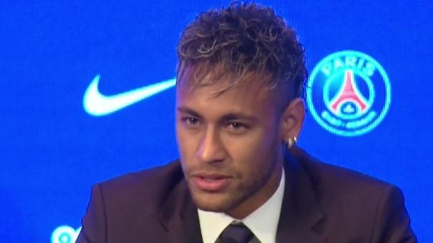"""Neymar presenterad av PSG: """"Hittar inte orden"""""""