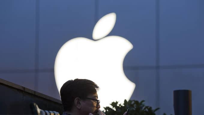 Apple slog sitt två år gamla rekord i tisdags. Foto: NG HAN GUAN