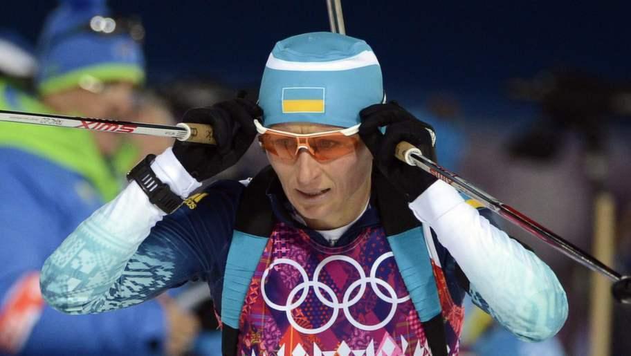 Ukrainska deltagare vagras sorgband