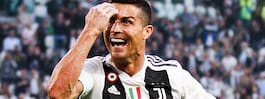 Ronaldo historisk – efter nya målet