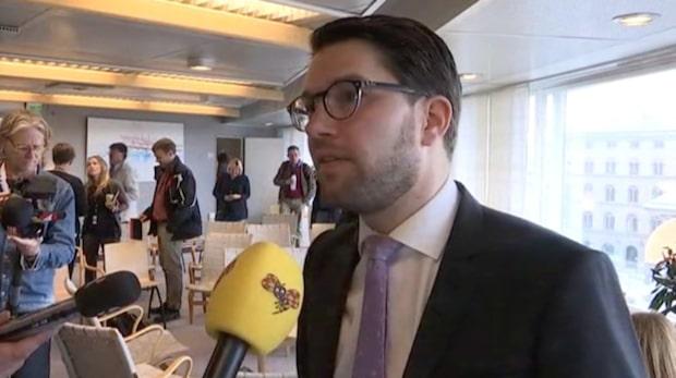 """Åkesson (SD): """"För lätt att bli medborgare"""""""