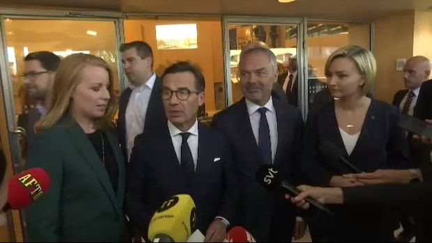 Dagens politik: Lööf nobbar Kristersson – Åkesson röstar ja