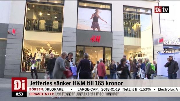 Jefferies slaktar H&M:s riktkurs