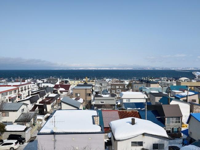 Staden Wakkanai, i Hokkaido, Japan, föreslås bli slutmålet för den förlänga transibiriska järnvägen