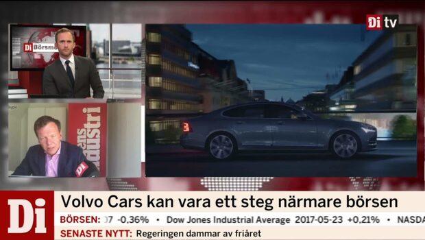 Volvo Cars tar sig närmare börsen