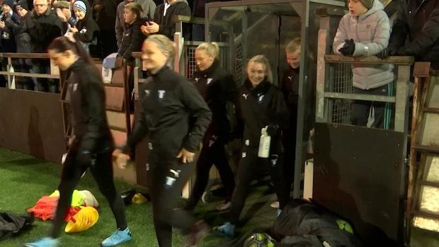 """Malmö FF:s damlag har haft sin första träning: """"Otroligt bra"""""""