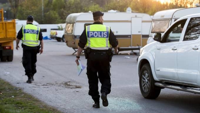 För några år sedan slog asfaltsläggarna läger i Kungälv. Foto: Lennart Rehnman