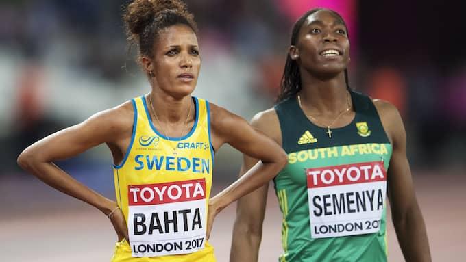 Meraf Bahta ställdes mot Semenya i finalen på 1 500 meter. Foto: JOEL MARKLUND / BILDBYRÅN