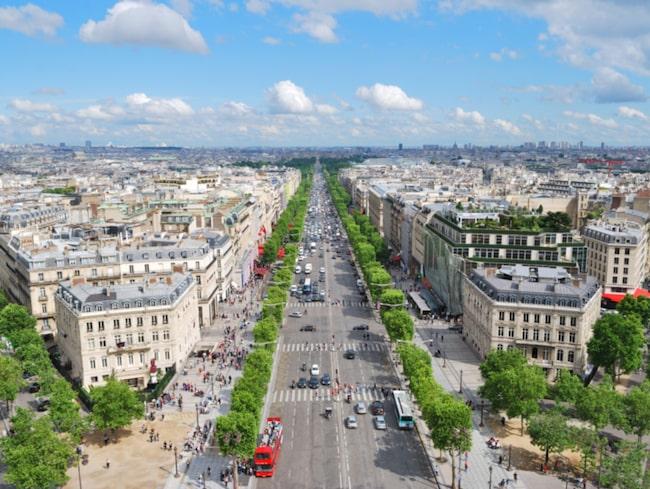 En av Lotties favoritplatser i världen är Paris, som också är den stad hon känner allra bäst.