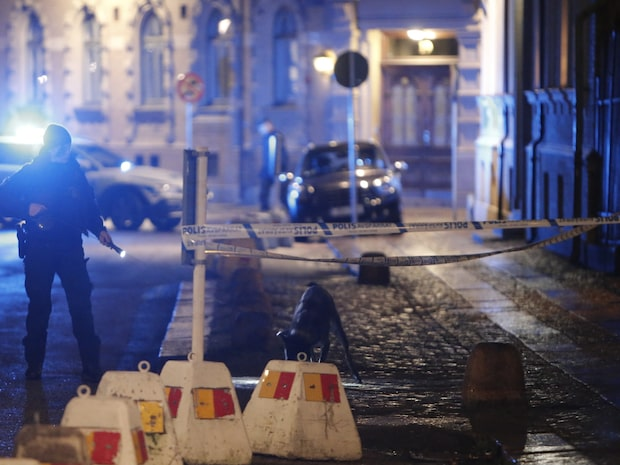 Brandbomber har kastats mot synagoga