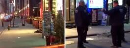 Skottlossning i New York – tre skadade