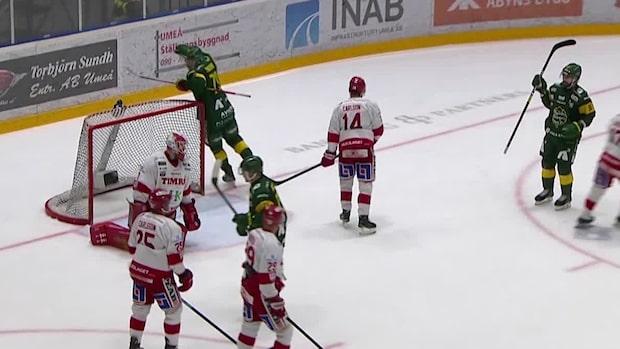 Höjdpunkter: Björklöven krossade Timrå i toppmötet