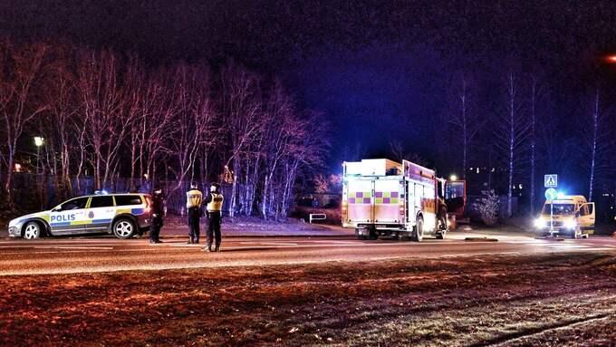 Olyckan inträffade på Teleborg i Växjö. Foto: Carl Carlert