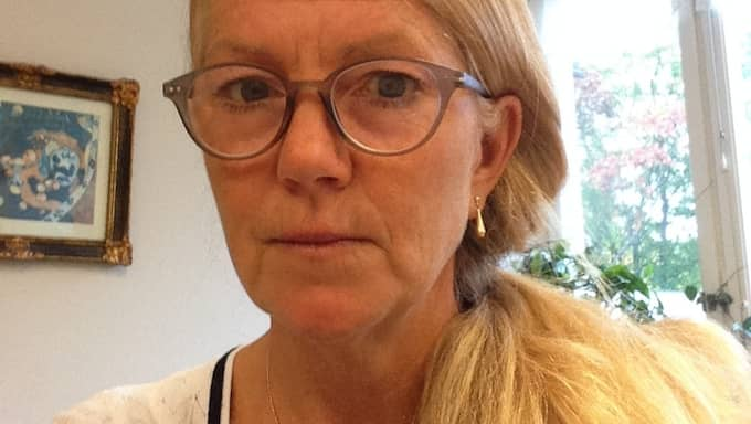 Ann Ljunglund, 56, är en av dem som fått upp den falska Comhem-sidan i sitt flöde. Foto: Privat